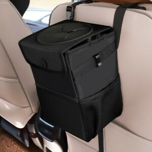Details About Car Trash Can Foldable Garbage Bin Storage Organizer Waste Basket Container