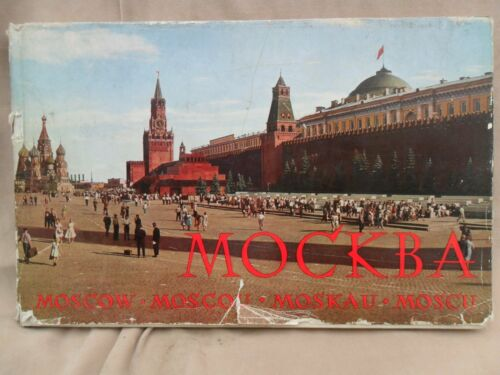 "4322 EAST GERMANDDRGDRSOVIET UNION TOURISMTravel COLD WAR "" MOSCOW "" 1963"