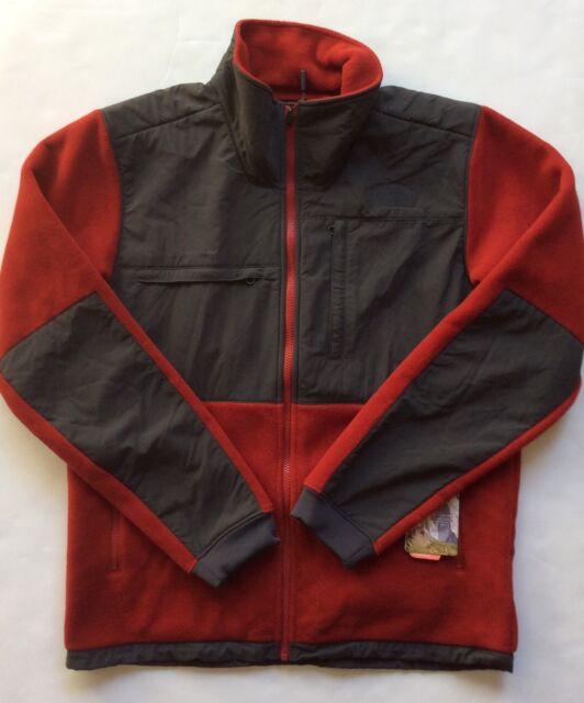 c2cab177538f North Face Men s Evolution Denali Jacket Medium Cardinal Red   Asphalt Grey  New