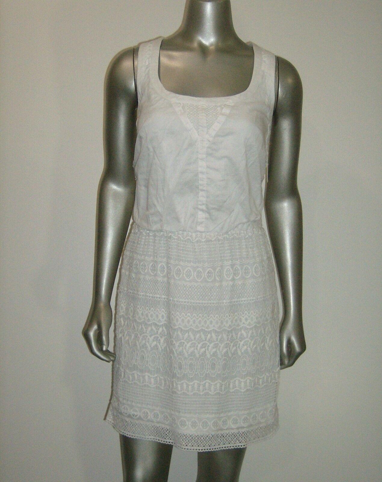 Jessica Simpson Woherren A-Line Skirt Dress Weiß S