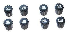 8x Reifenmarkierer Ventilkappen Radmerker Reifenmarkierung Reifenwechsel Reifen