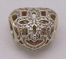 0be977038 Authentic Pandora 14ct solid gold ❤️Love & Appreciation ❤️750837CZ charm