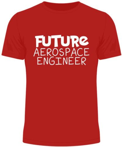 Future Aerospace Engineer Kids T Shirt Funny Gift Novelty Humour Birthday