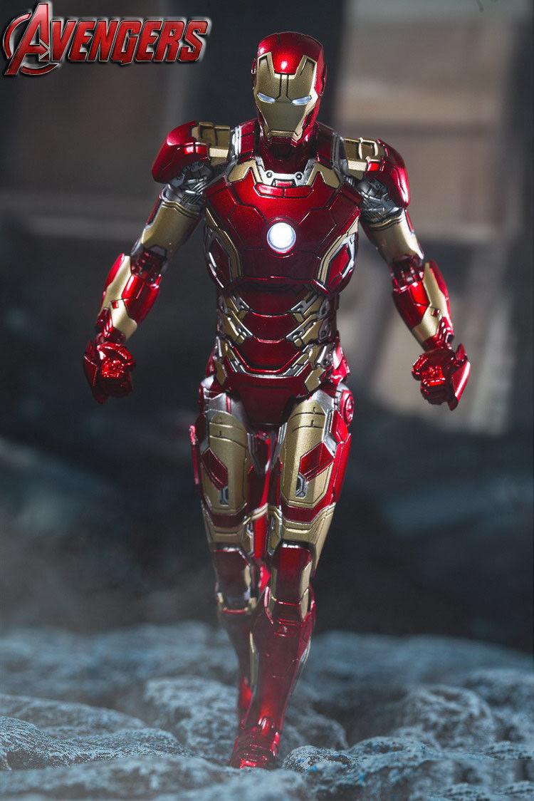 Comicave 1 12 Aleación Movible Iron Man Mark 43 MK43Juguete Figura de Acción Collecte Juguetes
