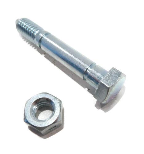 5 SHEAR PINS /& BOLTS for John Deere 828D 924DE 1032D Snowthrower Snowblowers