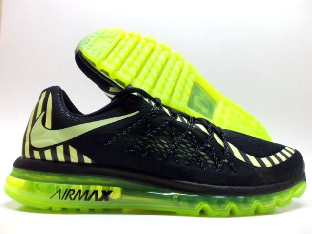 check out 78ebb 74b9f NIKE AIR MAX 2015 NR ANNIVERSARY BLACK LIQUID LIME-GREY MEN S 11.5  746687