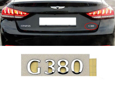 For 2009-15 HYUNDAI GENESIS COUPE REAR TRUNK COUPE EMBLEM GENUINE PARTS