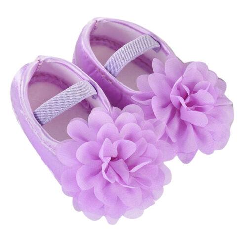 Mädchen Blumen Krabbelschuhe Taufschuhe Babyschuhe Spitze Schuhe 0-10 Monate