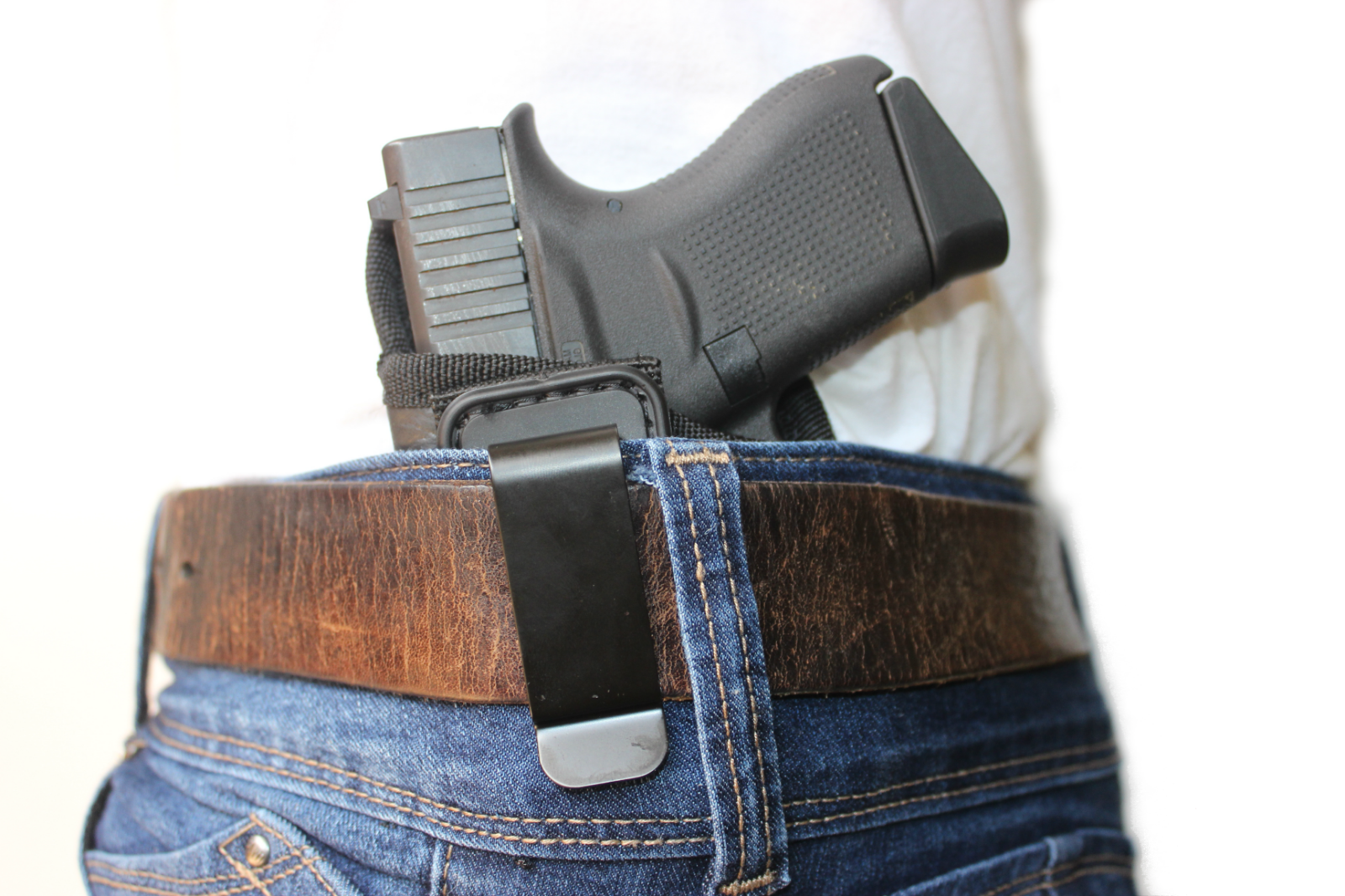 HOLSTER IWB BLACK KYDEX FITS FN 5.7 MK2 With crimson trace cmr-201 FIVE SEVEN