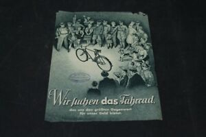 Age-Print-Handzettel-Seidel-And-Naumann-Bicycles-Old-Vintage-Advertisement-Ad
