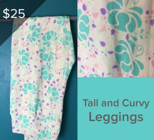 LuLaRoe Tall /& Curvy Leggings various options New With Tags LLR NWT Buttery Soft