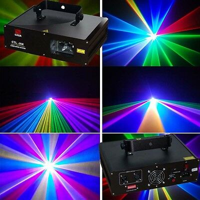 600mW RGB dmx512 disco dj stage laser lighting effect show projector for party