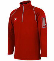Clearance Gilbert Rugby Ladies Quest Micro Fleece- Size 12 Medium - Red