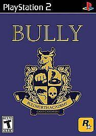 Bully (Sony PlayStation 2, 2006) RARE & MINT
