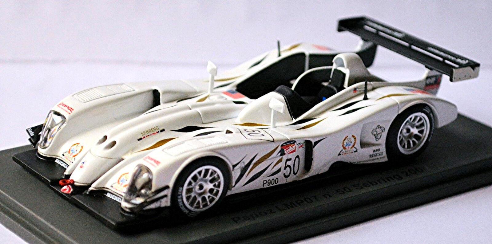 alto descuento Panoz Panoz Panoz LMP07  50 Sebring 2002 D. Brabham - J.Magnussen 1 43 Spark  Venta en línea precio bajo descuento