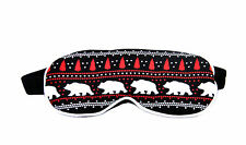 Wildfox Women's Alaska Bears Sleep In Eye Mask Multi One Size RRP £30 BCF69