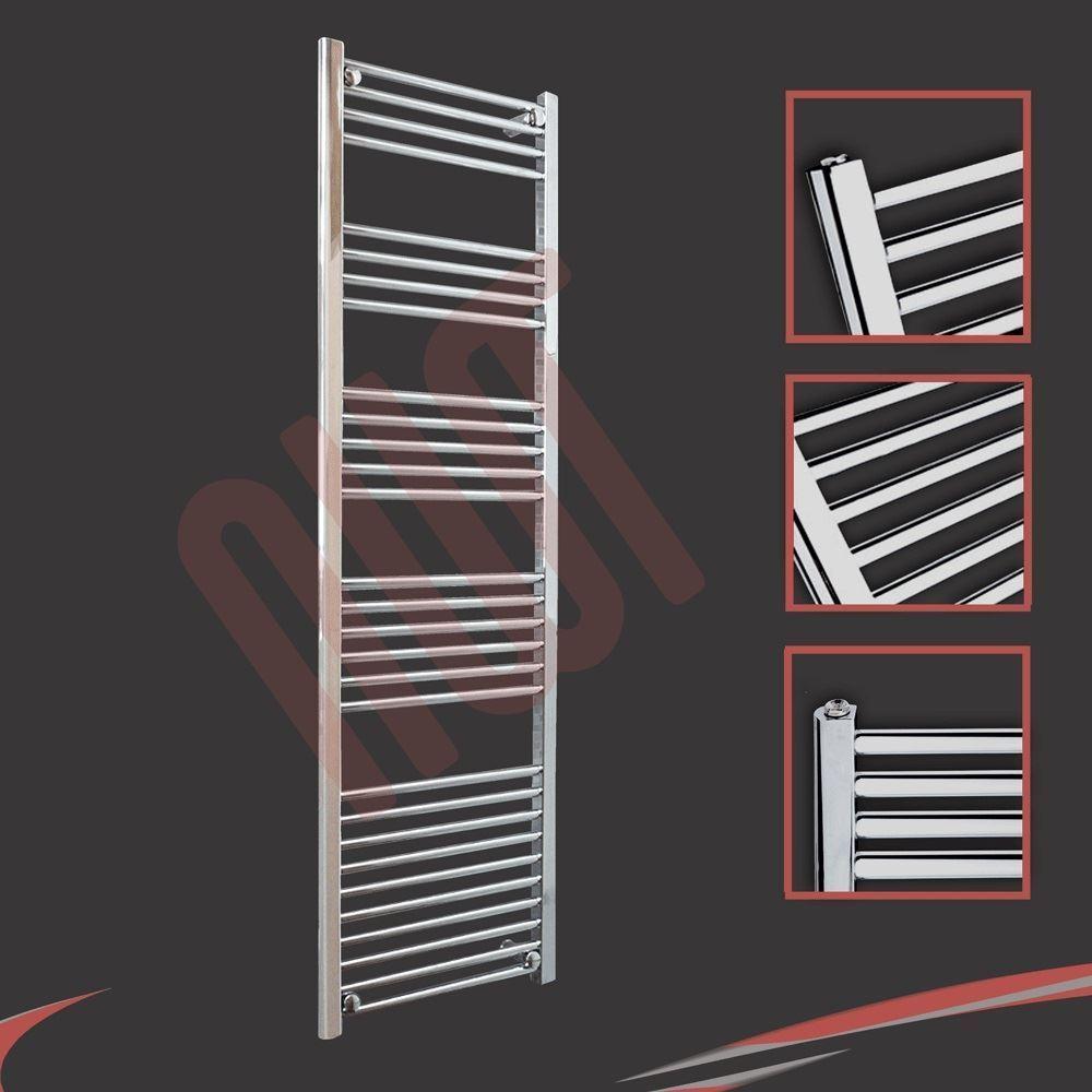 Weiß, Chrome OR Polished Stainless Steel Heated Bathroom Towel Towel Towel Rail Warmers 06170c