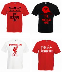 383571f0a Image is loading Jurgen-Klopp-Liverpool-FC-T-Shirts-Normal-One-