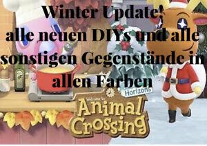 Animal-Crossing-NH-Winter-Update-alle-neuen-Anleitungen-Items-alle-Farben