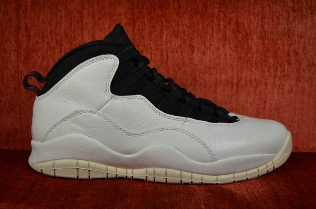 new products 34054 5a6e4 Nike Air Jordan Retro X 10 I'm Back Summit White Black 310805-104 Size 9