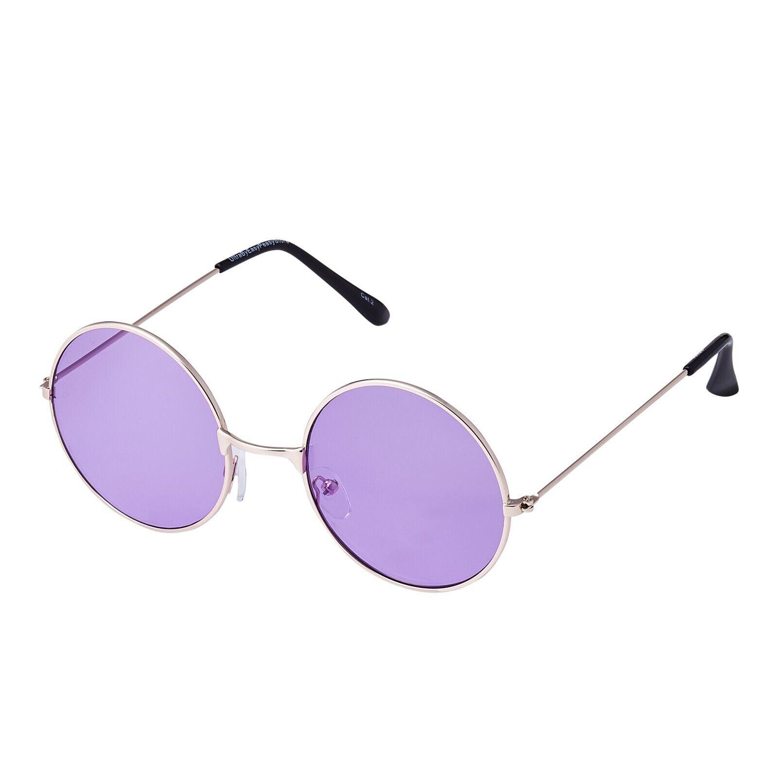Violet Lentille John Lennon Petit Style Adultes Soleil Rétro