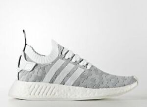 best service 2b5fb fd341 Image is loading Adidas-NMD-R2-W-PK-Womens-Running-White-