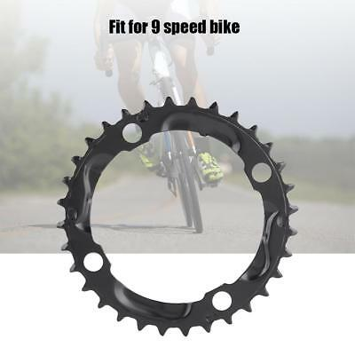 Black Steel Chainring 8//9 Speeds 104mm Chainrings for Mountain//MTB Cycling