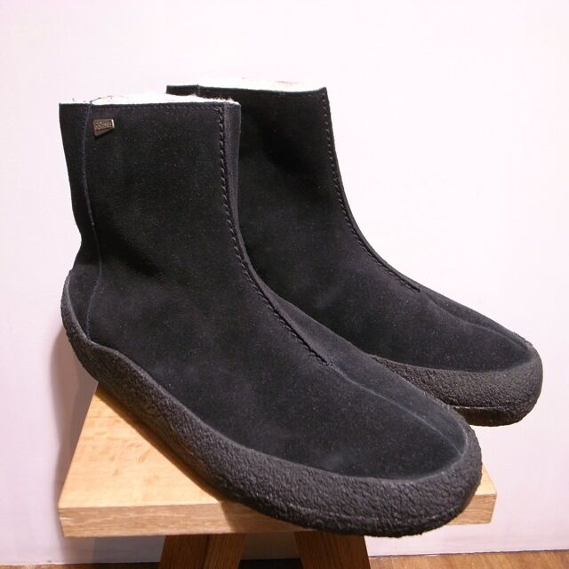 New Clark  Herren  JEZ BLACK CURVE WARM Stiefel  BLACK JEZ SUEDE  100%WOOL  UK 10.5 G 5d6497