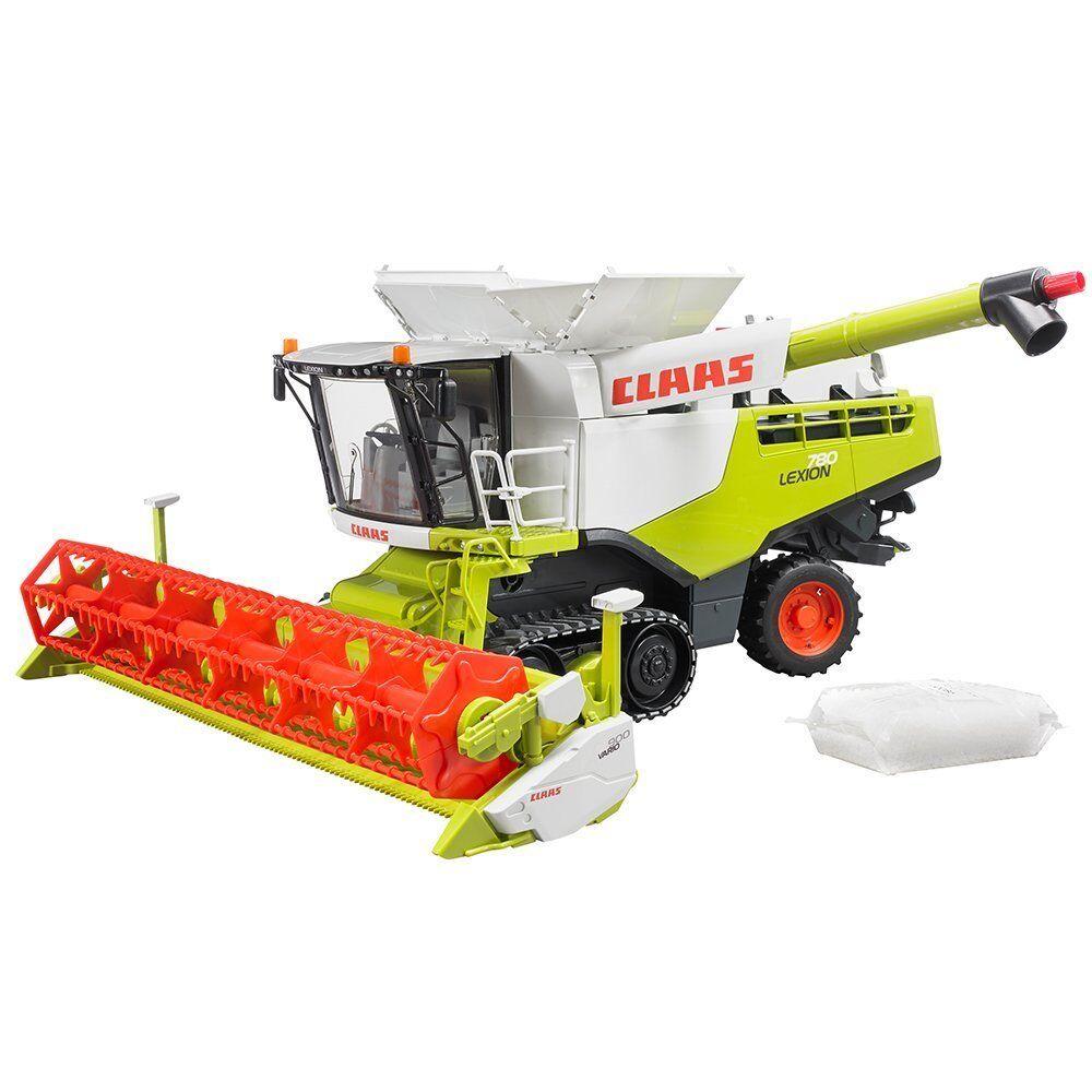 Bruder Toys Claas Lexion 780 Terra Trac Combine Harvester - 02119 -1 16 scale