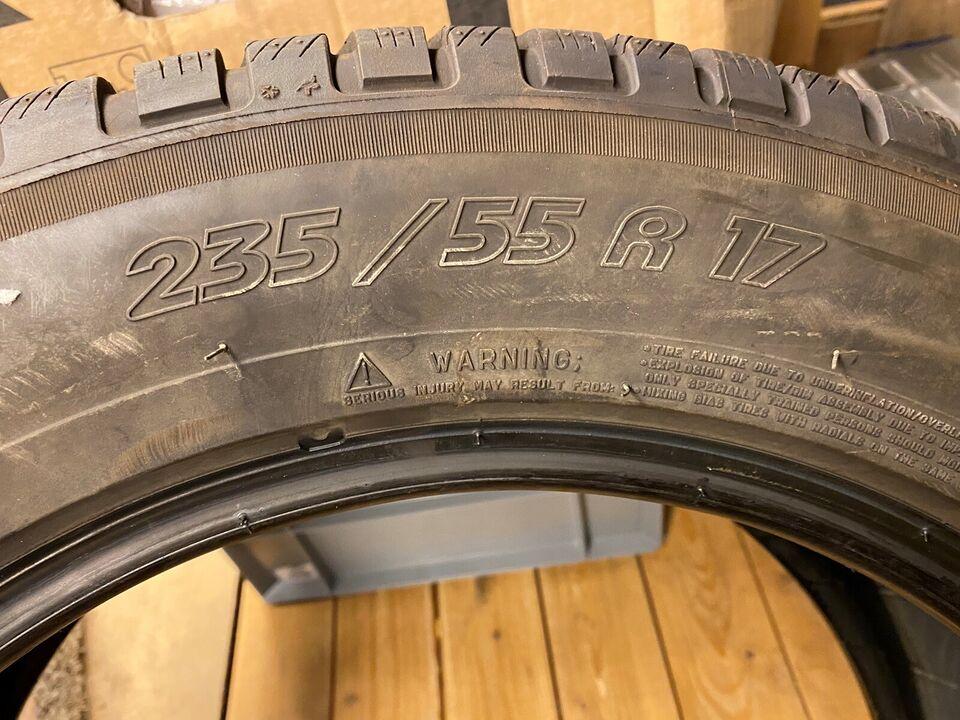 Vinterdæk, Michelin, 235 / 55 / R17