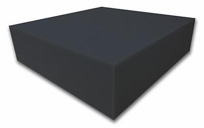 50 x 50 x 10 cm Dibapur /® Black FSE /• Flamm hemmend /• Raum /• Akustik Schaumstoff /• D/ämmung /• Schallschutz