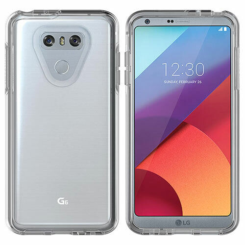 new style b96cb bab04 Genuine OTTERBOX LG G6 Symmetry Series Cover Case Drop Protection Clear