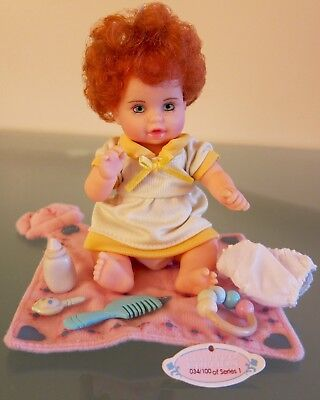 100 Series 1 Baby So Dainty Collectible Play Doll Limited Edition 047