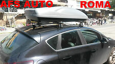 BOX AUTO PORTAPACCHI PORTATUTTO G3 ALL-TIME 480 LT.+BARRE OPEL ASTRA J 3/5P 2014