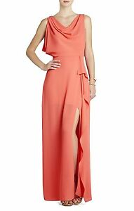 NEW-BCBG-MAX-AZRIA-AMBROSIA-SYDNEY-COWL-NECK-WQR6X536-L71-DRESS-SIZE-6