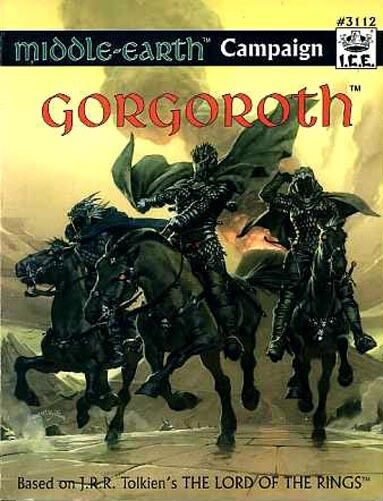 GORGgoldTH VF  MERP MIDDLE-EARTH J.R.R. Tolkien Module I.C.E Adventure