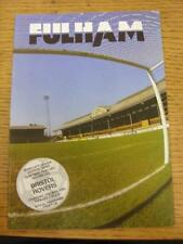 25/05/1989 Play-Off Semi-Final Division 3: Fulham v Bristol Rovers  . Item in ve