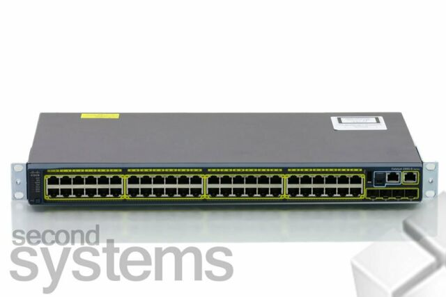 Cisco Catalyst 2960S 48-Port Gigabit Switch + 4SFP - WS-C2960S-48TS-L V05