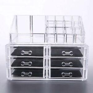 Haute-Qualite-Cosmetique-Rangement-Boite-avec-6-Tiroirs-Moule-Acrylique