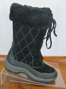 Clarks Privo Arctic Snow Boots Black