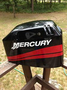 Mercury Outboard 25 - 250 HP Mercury outboard MERCURY BOAT MOTOR COWL decal set