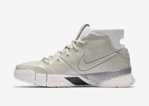 Nike Zoom Kobe I 1 FTB 13.5 Fade To Black 869451 110 Sail XI Protro ... 739bfb0ec