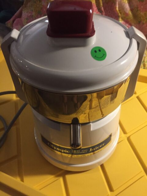 Olympic Omega Model No.1000 Fruit and Vegetable Juicer USA Made Nice!