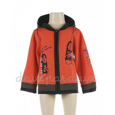 NWT Deux par Deux Fairies Believer Knit baby girl Cardigan sweater 24M 2 3 BE30