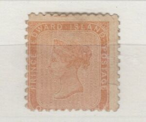 Prince-Edward-Island-QV-1862-1d-Brown-Orange-SG6-MH-J6101