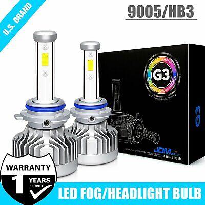 G3 9006 HB4 LED Headlight Bulbs Conversion Kit 72W 8000LM 6000K White Hi//Lo Beam