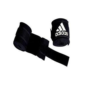 PréCis Adidas Hand Wrap Boxe Muay Thai Punch Mma Arts Martiaux Bandage 4.5 M Glove Wrap-afficher Le Titre D'origine Emballage De Marque NomméE