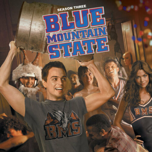 BLUE MOUNTAIN STATE 24X36 POSTER TV SHOW COMEDY WALL ART COLLEGE COOL SCHOOL US!