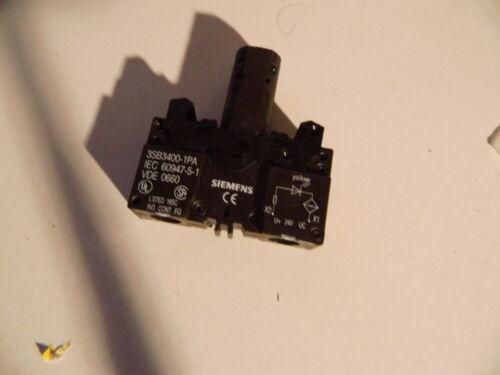 1 von 1 - 3SB3400-1PA  Siemens 3SB3400-1PA Lampenfassung