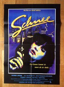 Schnee-Kinoplakat-039-81-Juliet-Berto-Drogen-Drugs